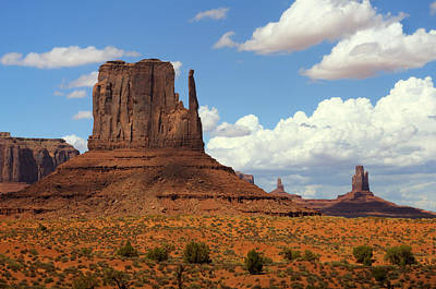 Photograph - West Mitten Butte by Saija  Lehtonen