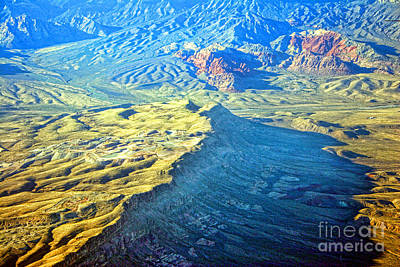 Photograph - West Of Las Vegas Planet Earth by James BO Insogna