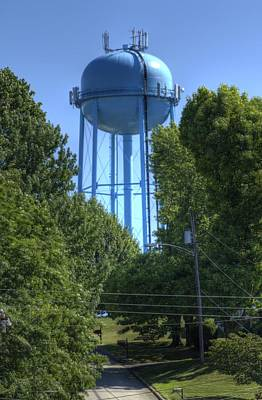 Photograph - West Penn Power Water Tower by Coby Cooper