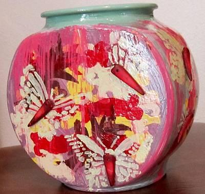 Glass Art - West Side by Jarunee Ward