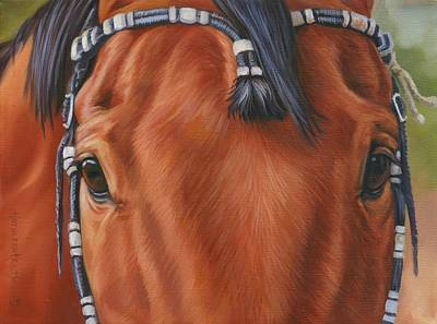 Painting - Western Braids by Kathleen  Hill