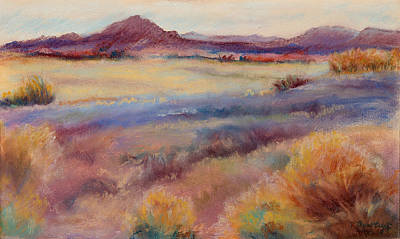 Painting - Western Landscape by Rita Bentley
