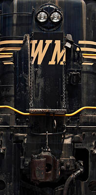 Western Maryland Diesel Art Print by Murray Bloom