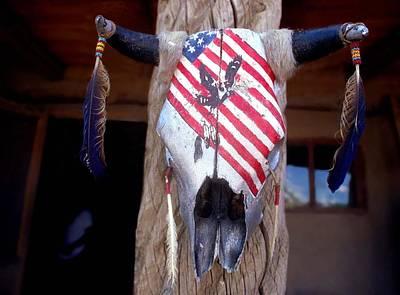 Photograph - Western Patriotism by Emanuel Tanjala