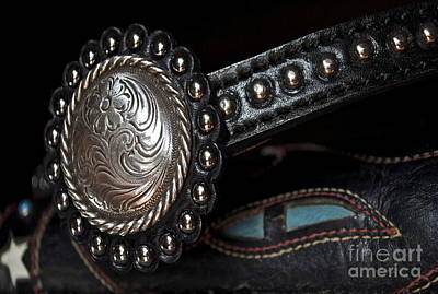 Silver Turquoise Photograph - Western Pizzaz by Gwyn Newcombe