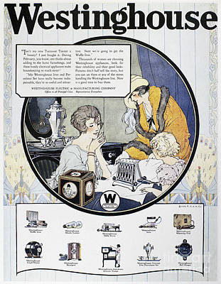 Westinghouse Ad, 1924 Art Print by Granger