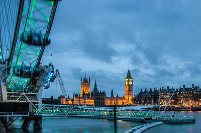 Photograph - Westminster And The London Eye by Dawn OConnor