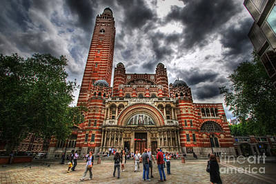 Westminster Cathedral Art Print by Yhun Suarez