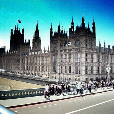 Westminster, London 2012 | #london Art Print by Abdelrahman Alawwad