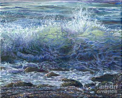 Painting - Westport Waves by LeRoy Jesfield