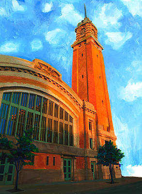 Painting - Westside Market by Mary C Haneline