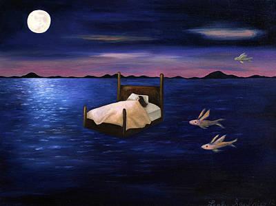 Wet Dreams Art Print by Leah Saulnier The Painting Maniac
