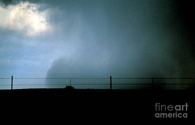 Wet Microburst Sequence, 4 Of 4 Art Print by Science Source