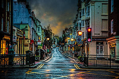 Photograph - Wet Morning In Kemp Town by Chris Lord