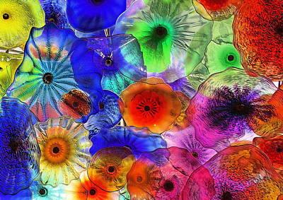 Wet Umbrellas Art Print by Viktor Savchenko
