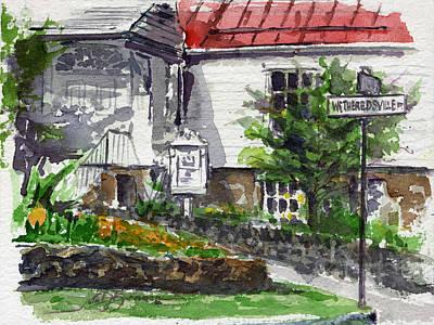John Benson Painting - Wetheredsville Street by John D Benson