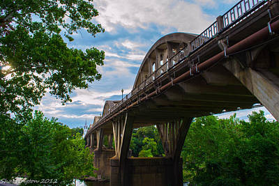 Photograph - Wetumpka Bridge by Shannon Harrington