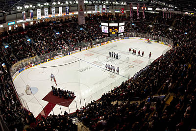 Anthem Wall Art - Photograph - Wfcu Centre by Cale Best