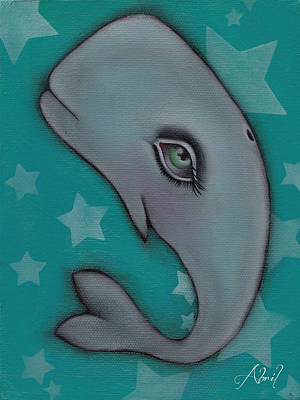 Painting - Whale II by  Abril Andrade Griffith