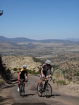 Tour Of The Gila Photograph - What A Climb by Feva  Fotos