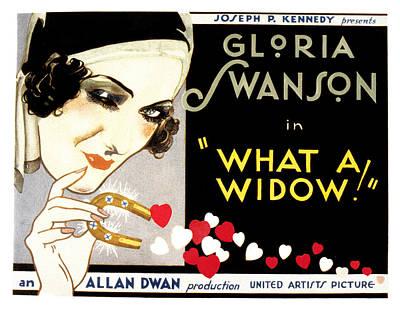 What A Widow, Gloria Swanson, 1930 Art Print