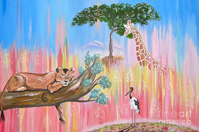 Painting - What Africa by Phyllis Kaltenbach