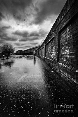 Rainy Day Photograph - What Do I Know by John Farnan