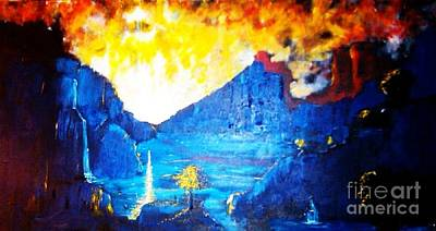 Landscape Painting - What Dreams May Come  by Stefan Duncan