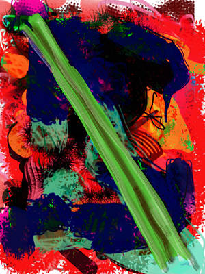 What Is Celery Art Print