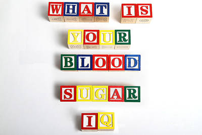 What Is Your Blood Sugar Iq Art Print by Photo Researchers