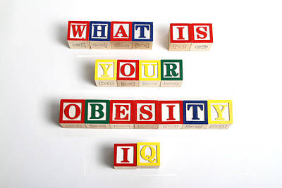 What Is Your Obesity Iq Art Print by Photo Researchers