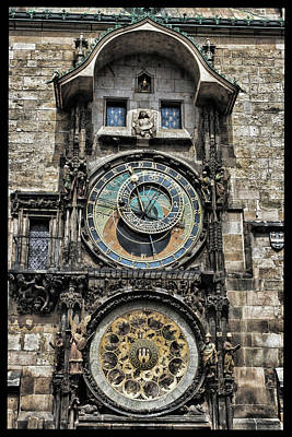 Astronomical Clock Photograph - What Time Is It by Jason Wolters