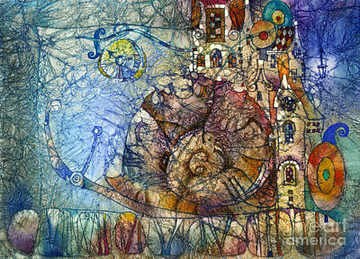 Time Mixed Media - What Time Is It by Svetlana and Sabir Gadghievs