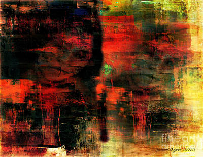 Reality Mixed Media - Whatever - Still Mind Over Matter by Fania Simon