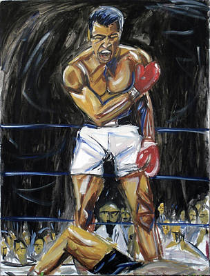 Knockout Painting - What's My Name by Hannah Curran