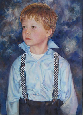 Painting - Blue Boy by Mary Wykes