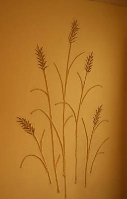 Photograph - Wheat On The Wall by Amelia Painter