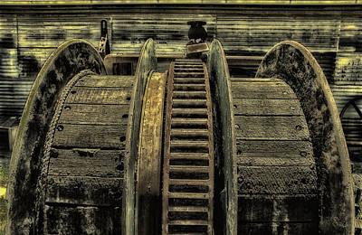 Wheel Of Industry Art Print by John Monteath