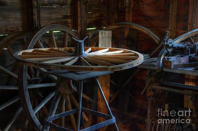 Wagon Wheels Photograph - Wheeler Dealer by Bob Christopher