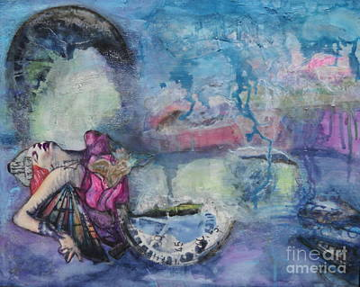 Mixed Media - When It Rains It Pours by Michelle Davidson
