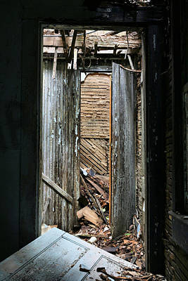 The Economy Photograph - When One Door Closes by JC Findley