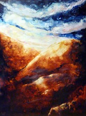 When Sorrow Is A Mountain Art Print