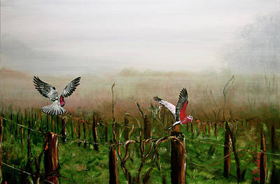 Painting - Where Are The Grapes by Elisabeth Dubois
