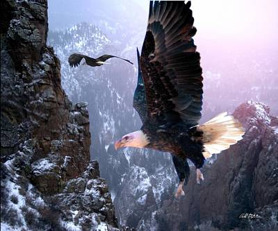 Where Eagles Dare Original by Bill Stephens