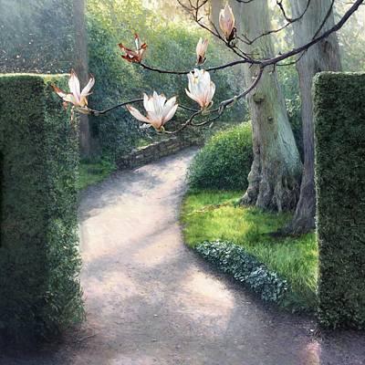 Where I Fell In Love Art Print by Helen Parsley