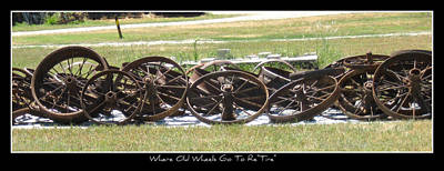 Photograph - Where Old Wheels Go To Retire by David Dunham