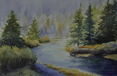 Painting - Where The River Leads by Sandy Fisher