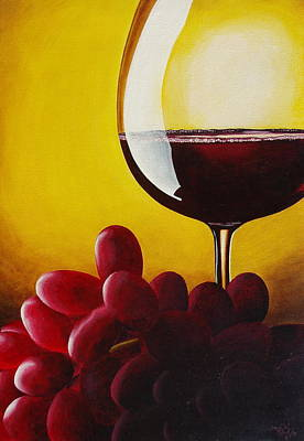 Stemware Painting - Where's The Cheese by David George