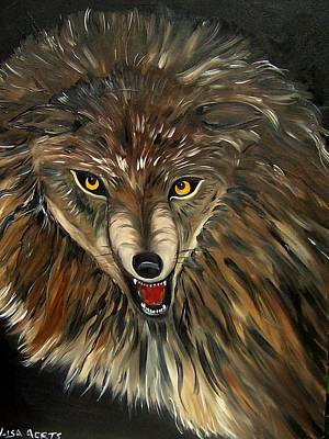 Wheres The Wolf Art Print by Lisa Aerts