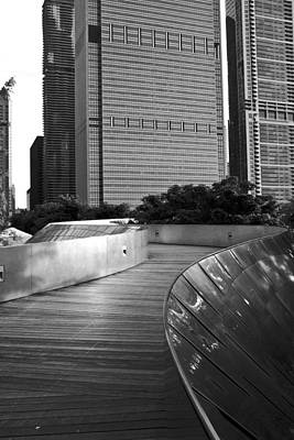 Frank Gehry Photograph - Wherever The Path May Take You by Daniel Chen